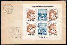 Ungarn Bl. 95 A, FDC, KSZE 1973