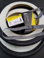 TWO Duro 12 1/2 X 2 1/4 Inch Bicycle Tires-Whitewalls INCLUDES TUBES/2 Rim Bands
