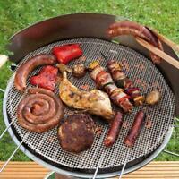 Runde BBQ Grillmatte antihaft Rundgrill nonstick Grillgitter Smoker für Weber 52