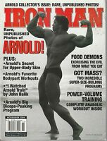 NOV 2004 IRON MAN vintage body building magazine ARNOLD SCHWARZENEGGER