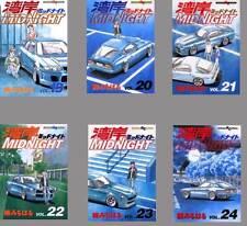WANGAN MIDNIGHT MICHIHARU KUSUNOKI JAPANESE ANIME MANGA BOOK VOL.19-24 SET
