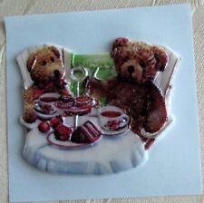 Kerzenkunst geprägtes Wachsornament Teddy Bärchen Jittenmeier QVC