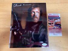 Chuck Norris Delta Force Autographed 8x10 Photo JSA
