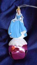 Cinderella on Pink Bell Disney Christmas Ornament