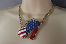 Women Metal Chains Gold Red Blue High Heel Boot Pendant Fashion Necklace Earring