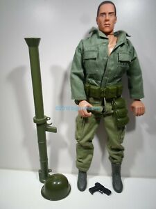 "Soldiers of the World 12"" 1:6 Korean USMC Bazooka Man Action Figure Formative"