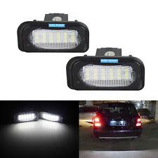 2x Eclairage Plaque d'immatriculation LED Pour Mercedes Benz W203 W209 R230 C209