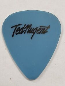 TED NUGENT CONCERT TOUR GUITAR PICK (80S POP HAIR HARD ROCK HEAVY METAL BAND)
