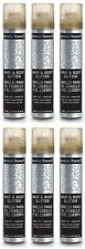 6 X Jerome Russell Hair and Body Glitter Spray Gold 2.3oz