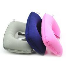 U Shaped Travel Pillow Neck Pillow Inflatable Portable Headrest Soft Air Cushion