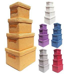 Neon Bright Colours Kids Nursery Playroom Toy Box Cupboard Storage Basket + Lid