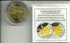 5 EUROS FINLANDIA 2007 (90 ANIV. INDEPENDENCIA)