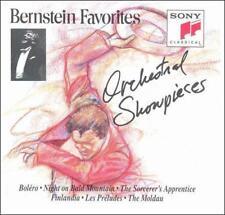 Bernstein Favorites: Orchestral Showpieces (CD, Sony Music Distribution, 1991)