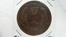 China Honan 100 Cash, Yr.20 / 1931, Y- 398, VF-, Rare