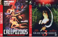 Grano Rosso Sangue 3 + Creepozoids (Dvd - Quadrifoglio) Nuovo