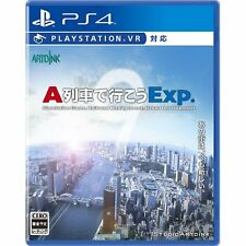 A-Train de Ikou Exp.  SONY PS4 PLAYSTATION 4 JAPANESE VERSION