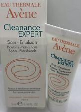 NEW NIB Eau Thermale AVENE Cleanance Expert Emulsion .16oz  Acne 🖤 AUTHENTIC