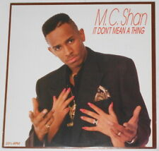 "MC Shan - It Don't Mean a Thing - U.S. promo 12"" EP vinyl"