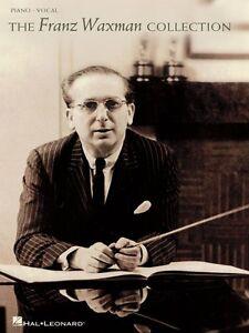 The Franz Waxman Collection Sheet Music PVG Composer Collection Book 000148031