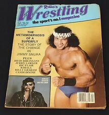 VINTAGE WRESTLING ~ Magazine ~ The Rings Wrestling Magazine ~ February 1983~ wwf