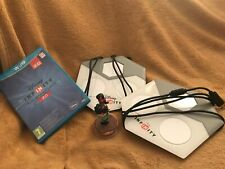 Disney infinity wii u with game, one Disney character and 2 portals