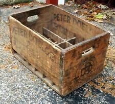 "PETER DOELGER ""Pre-Prohibition"" BOTTLED BEER wood case New York CITY Breweriana"