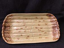 Bordallo Pinheiro~Asparagus Serving Platter~Green~Made in Portugal