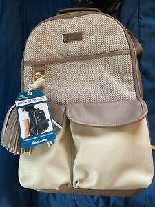 Itsy Ritzy Diaper Bag Boss Backpack Brown *NEW/UNUSED* kk1