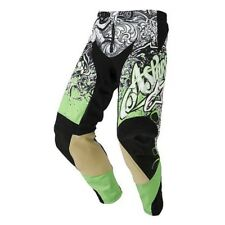 Pantaloni Motocross Alpinestars 2013 Charger Verde-nero-bianco 30 Vita EU 44