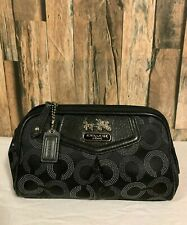 Small Coach Cosmetic Bag Pouch Case Makeup Bag
