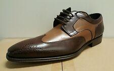 Mezlan Mens Lincoln Wingtip Brogue Lace Up Business Oxfords Formal Dress Sz 10-M