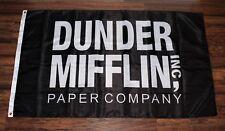 Dunder Mifflin Inc Paper Company Flag The Office USA Shipper 3' x 5' Banner New