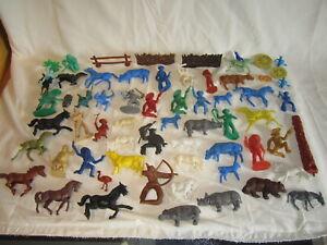 Figuren aus der Wundertüte, Cowboy und Indianer, Ritter, Tiere, Soldaten, usw.
