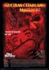 TEXAS CHAINSAW - FILM REVIEW  POSTER
