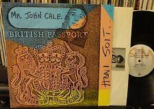 JOHN CALE / HONI SOTI 1981 A&M SP-4849 orig. inner vinyl NM vinyl