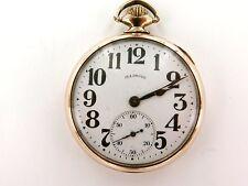 .*RARE 1919 ILLINOIS SANGAMO SPECIAL 48H MOTOR 16S 23J PRESENTATION POCKET WATCH
