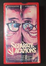 SEPARATE VACATIONS VHS DAVID NAUGHTON JENNIFER DALE LAURIE HOLDEN 80s SEX COMEDY