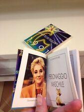 Mini libricino Telegatti 1991 RAFFAI  BONGIORNO COLO' CUCCARINI CARRA' CORRADO