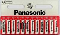 12 Pile Panasonic AA LR6 1,5V Longue Durée date  2022