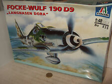 "Italeri 856 Focke-Wulf 190 D9 ""Langnasen Dora"" Model Kit in 1:48 Scale"
