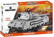 COBI Mauerbrecher Tank SET# 3032 (875 Pcs.) US SELLER, WOT, New, WWII