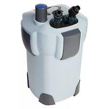 3-STAGE 265 GPH AQUARIUM CANISTER FILTER + 9W UV STERILIZER FRESH/SALT 75 Gallon