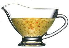 Pasabache Glass Gravy Boat Glass Gravy Bowl Container 170ml