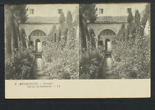 2696.-GRANADA -Jardines de Generalife. Andalousie (5)