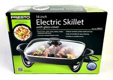 NEW Presto 06852 16-Inch Electric Skillet with Glass Cover