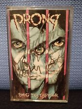 Prong Beg To Differ Cassette + The Cleansing Flat & Poster Autographed Signed