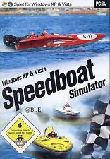 Pc cd-rom + vedette simulator + bateaux + Course + catamaran + vista