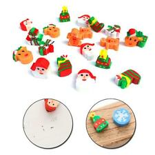 20/40pcs Mini Eraser Christmas Assorted Party Favours Kids Erasers Mixed Favour