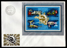 Hungary - Sc #C350 S/S of 4 -1974 Upu Centenary - Unaddressed First Day Covers