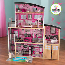 KidKraft Sparkle Mansion Doll House with 30 Piece Furniture For upto 12 in Dolls